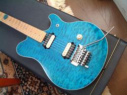 Musicman EVH Trans.Blue