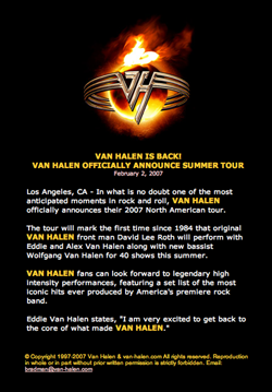 www.van-halen.comへ